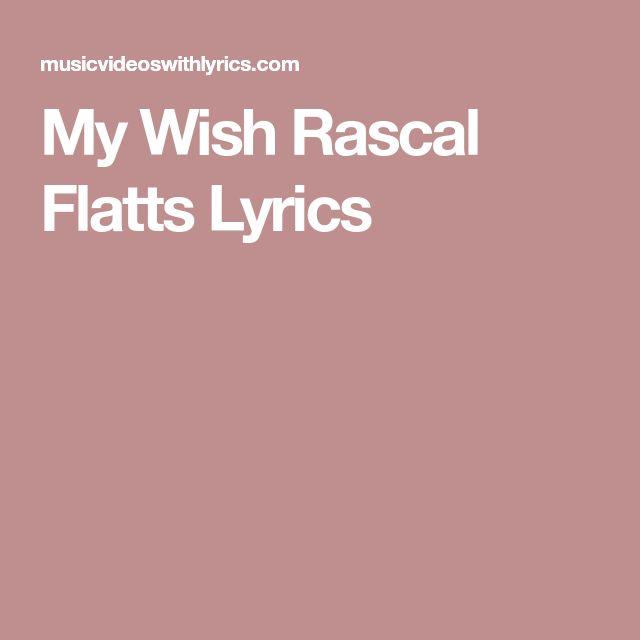 Rascal Flatts Lyrics - Skin