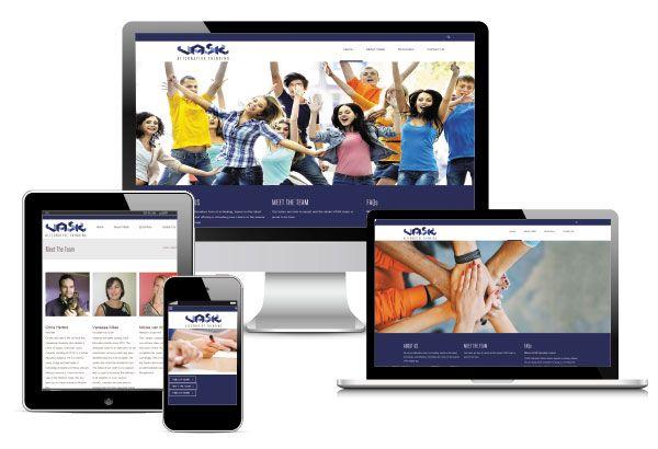 VASK College Website