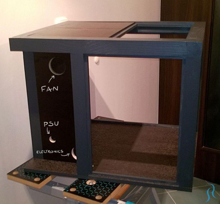 Diy 3d printer enclosure my build part 2 robert