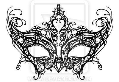 venitian mask drawings | VENETIAN MASK DESIGN by *Takumy on deviantART