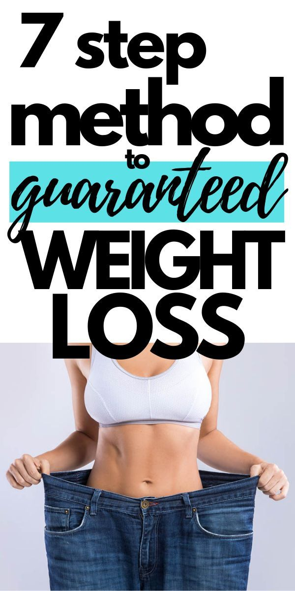 How to Start Losing Weight: A Super Simple 7 Step Guide 2019
