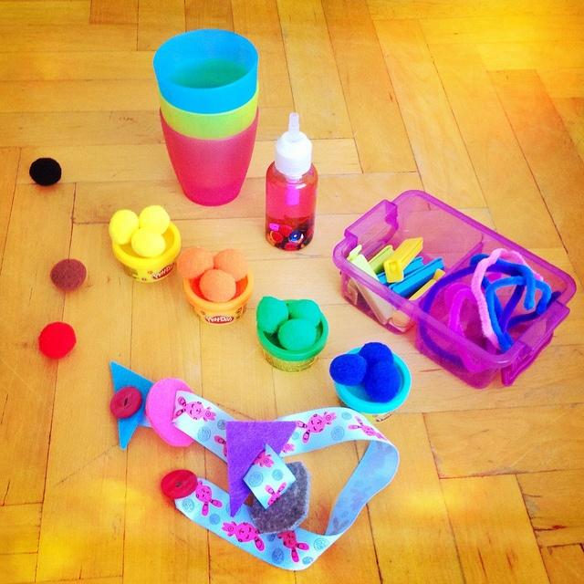 Cocuk oyalama Sanatı ;) aktivite çantaları