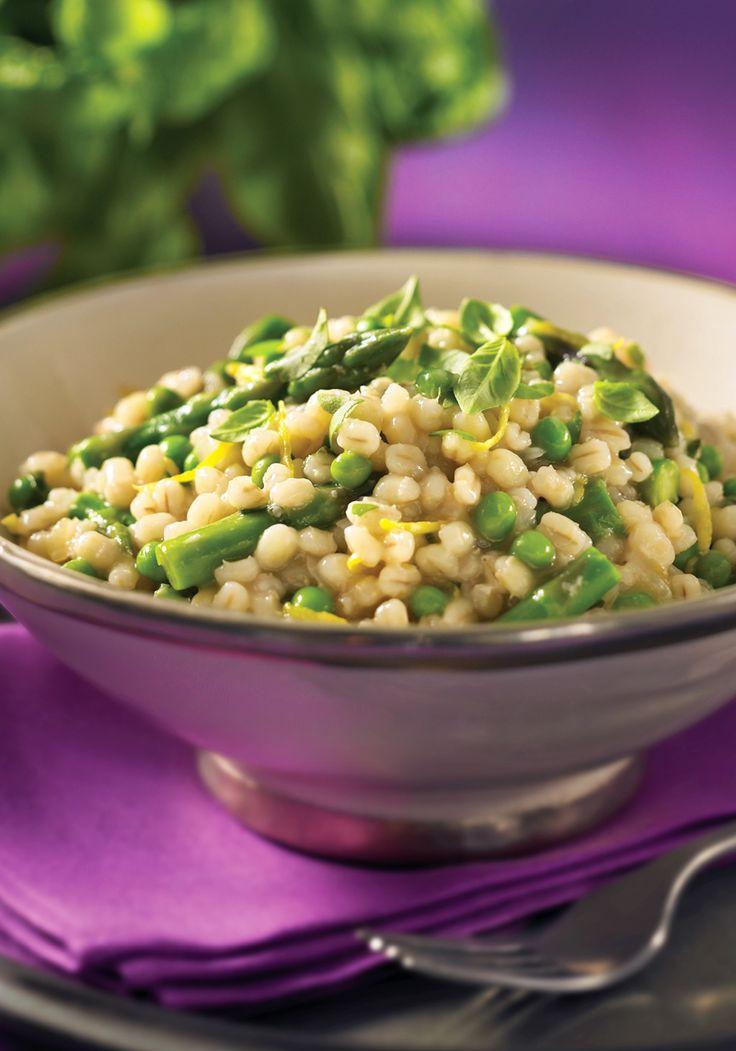 Barley+Risotto+with+Asparagus+and+Lemon+-+Read+More+at+Relish.com