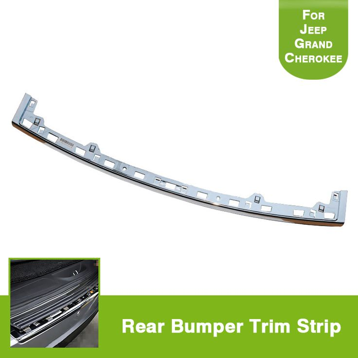 Abs Rear Bumper Trim Step Pad For 2011 2014 Jeep Grand Cherokee