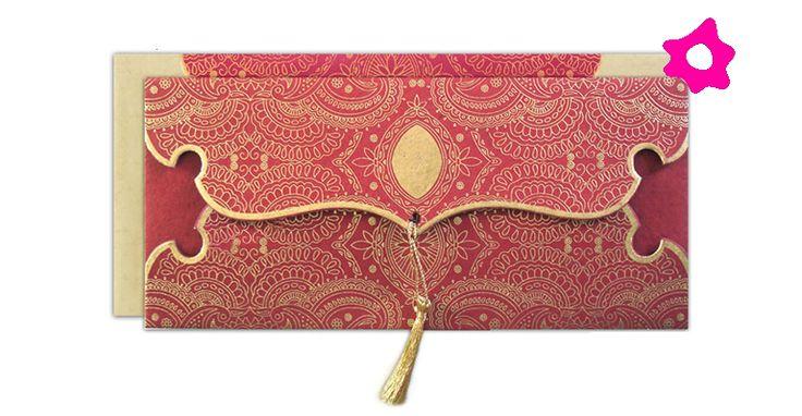 Convites para casamento com tema indiano