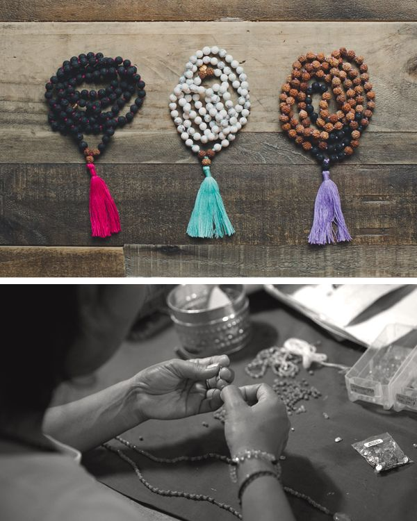 5 minutes with ashley wray of mala collective -- all about mala beads