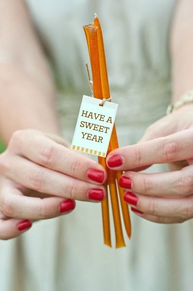 Design Megillah Honey sticks for Rosh Hashanah