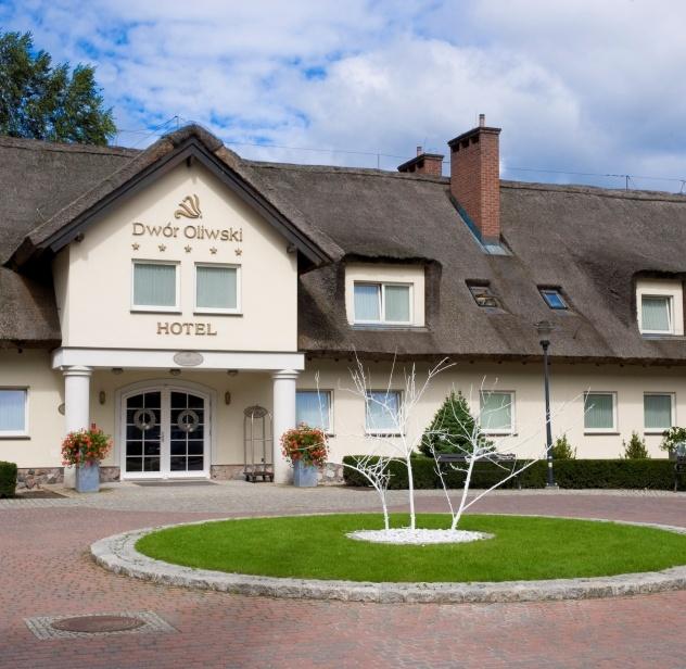 Dwór Oliwski Hotel's main entrance # Gdansk # Poland