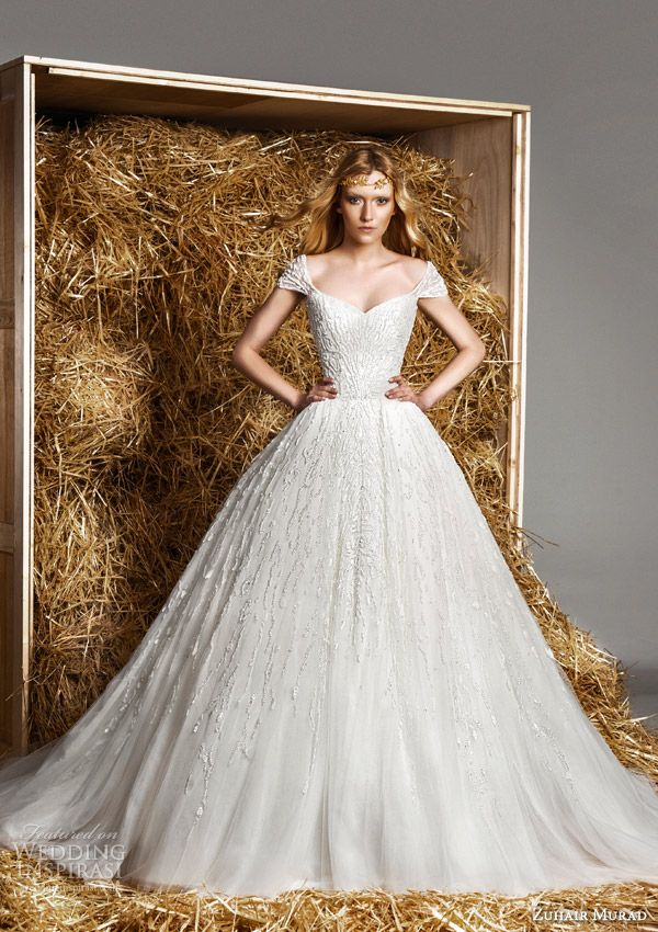 Zuhair Murad Bridal Spring 2015 Wedding Dresses