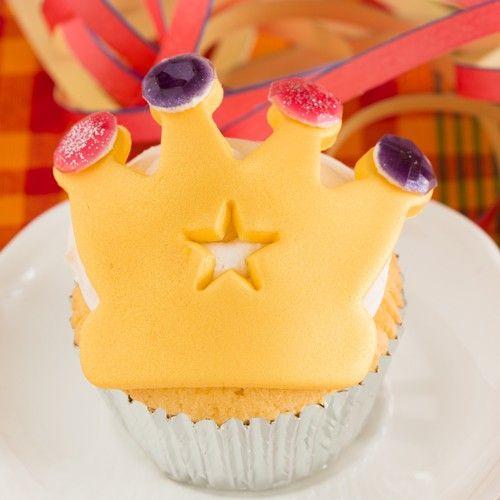 Recept: Kroon cupcakes - Cupcakes - Recepten  | Deleukstetaartenshop.nl | Deleukstetaartenshop.nl
