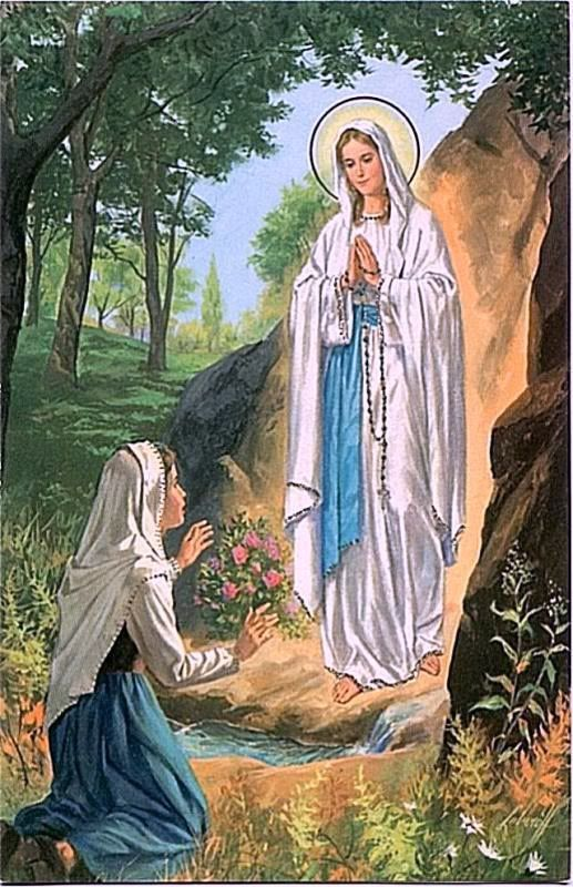 11 February - Feast Day - Our Lady of Lourdes