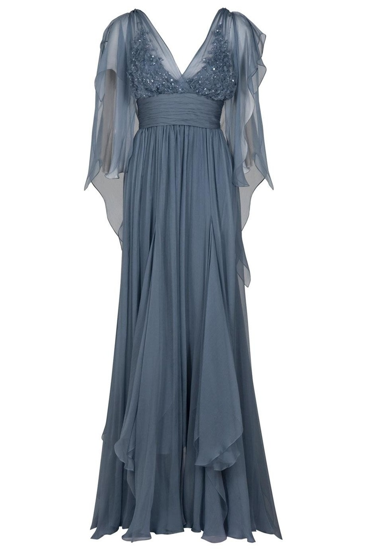 Dark Blue Ish Grey Formal Gowns Evening Dresses Nice