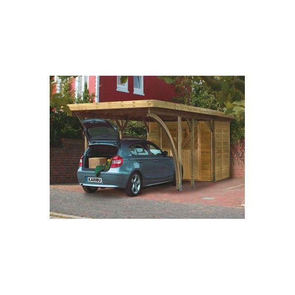 11 best images about abris voiture et carport en bois on pinterest belle ranger and simple. Black Bedroom Furniture Sets. Home Design Ideas