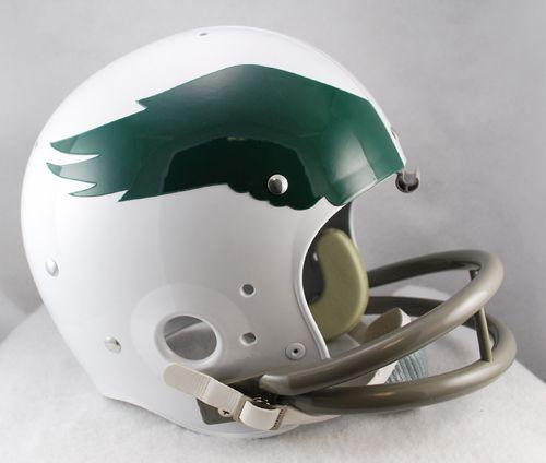 Philadelphia Eagles 1969 to 1973 TK Throwback Football Helmet - Sports Integrity