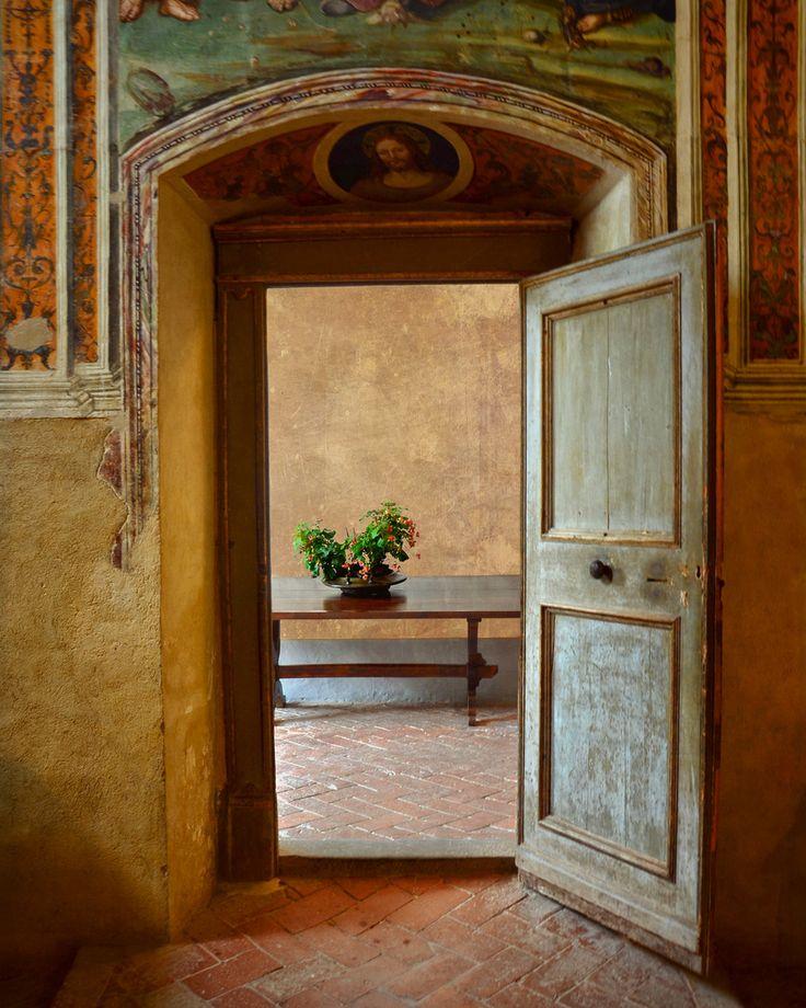 The Monastery of Sant'Anna in Camprena located near Pienza in Tuscany
