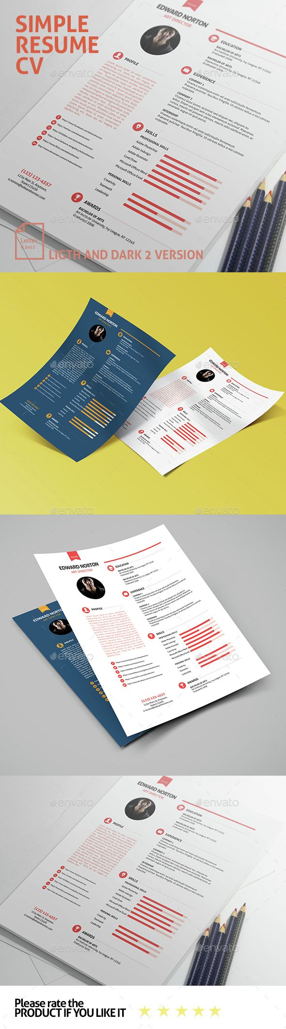 active words for resumes%0A ideas about Simple Resume Examples on Pinterest Simple