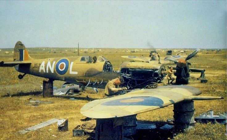 Spitfire No. 417 Squadron, SAAF - North Africa