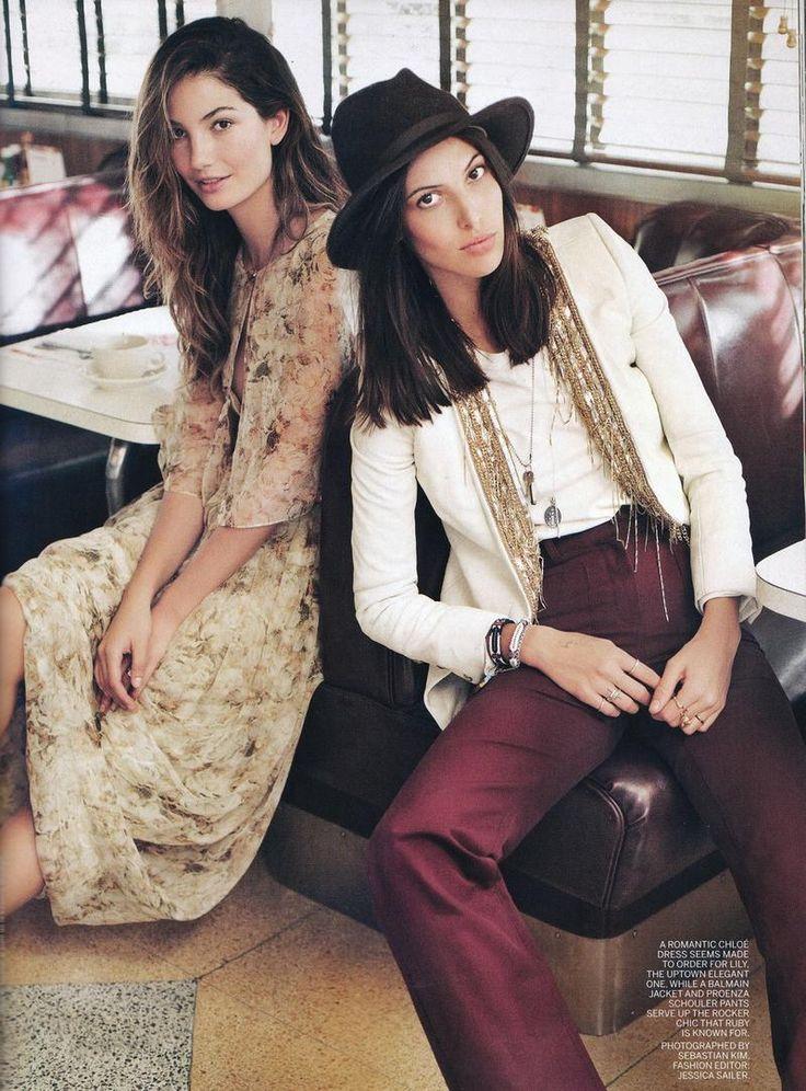 Lily & Ruby Aldridge