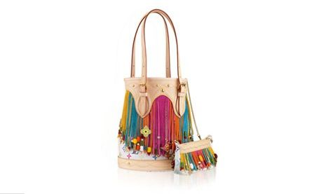 Dear Santa.. Louis Vuitton Bucket Bag With Charms – Sybarites