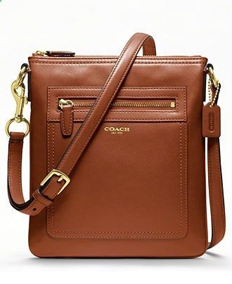 COACH LEGACY LEATHER SWINGPACK - Crossbody Messenger Bags - Handbags Accessories - Macys