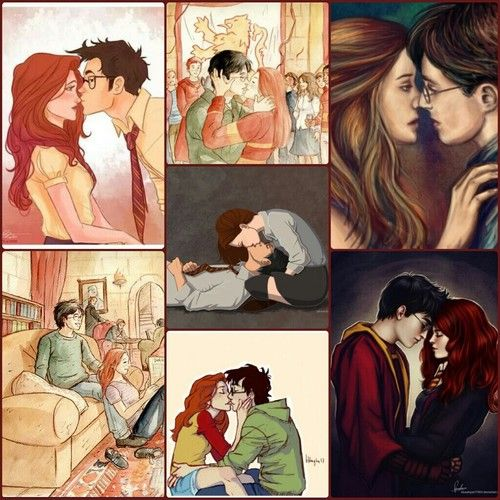 James and Lily, Harry and Ginny.... you decide ;)