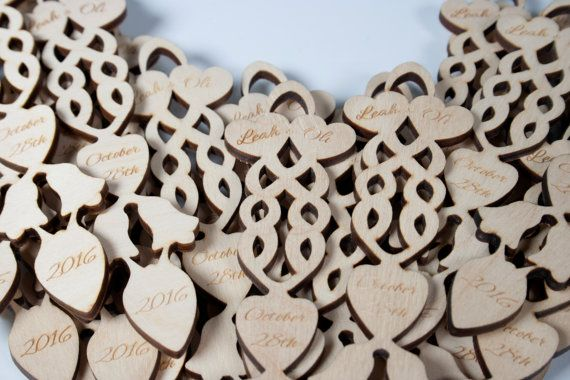 100 Welsh Lovespoon Wedding Favours - Personalised love spoon, love spoons engraved UK, wooden wedding favours, welsh wedding favour.