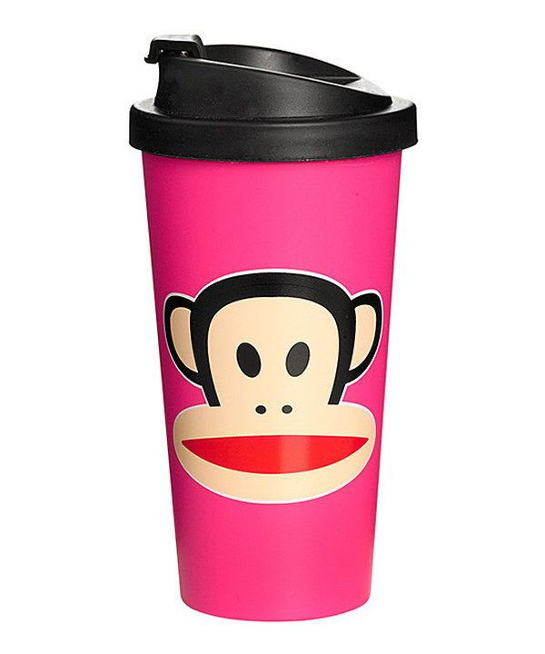Look what I found on #zulily! Pink Paul Frank To-Go Cup by Paul Frank #zulilyfinds