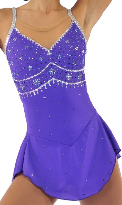 113 best Purple Figure Skating Dresses images on Pinterest ...