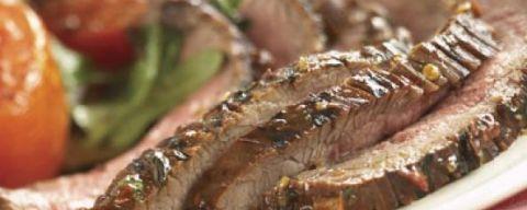 Grilled Flank Steak with Thai Seasoning | Gourmet Garden