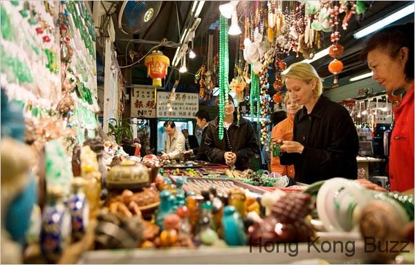 Specialty Market Shopping in Hong Kong