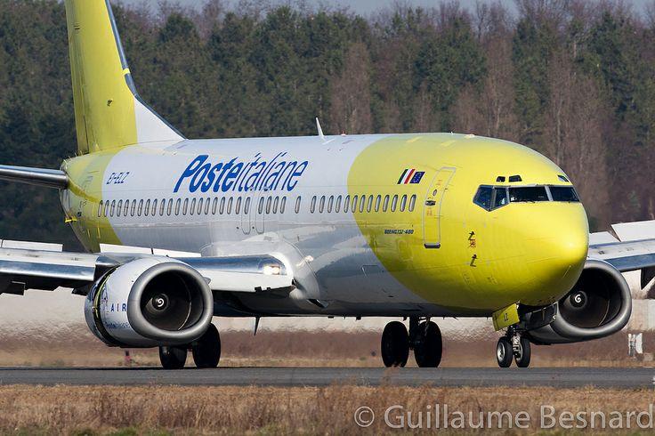 Boeing 737-400 Poste Italiane / Mistral Air EI-ELZ cn 26308/2665