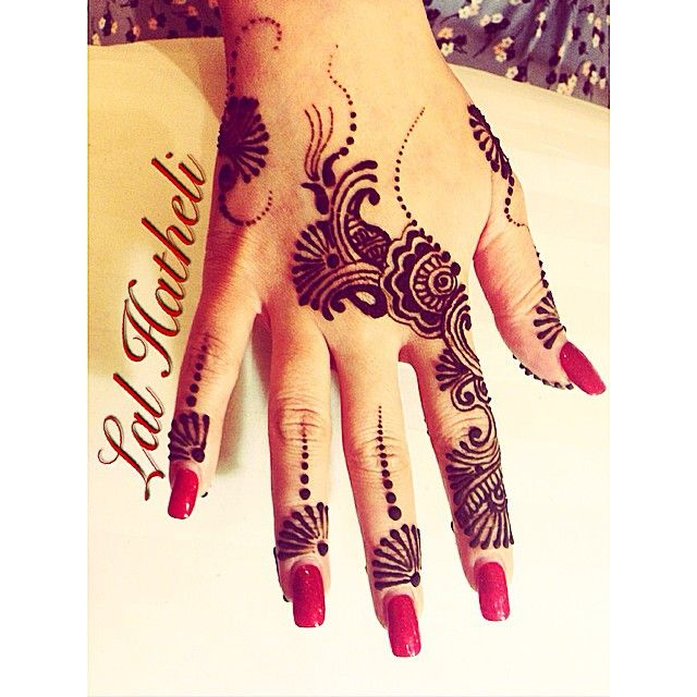 Mehndi For Hatheli : Best contemporary casual henna designs by lal hatheli