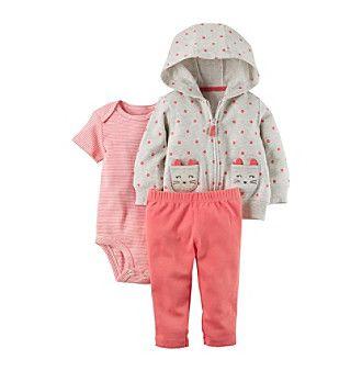 Carter's® Baby Girls' 3 Piece Little Jacket Set