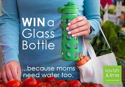 Lifefactory Glass Water Bottle - Mother's Day Giveaway!
