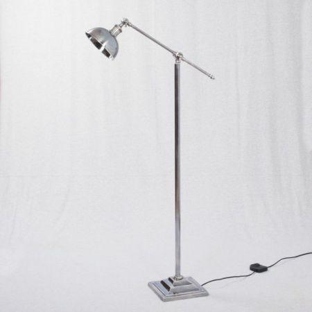Floor Lamp - Solid Brass Nickel Plated Lamp