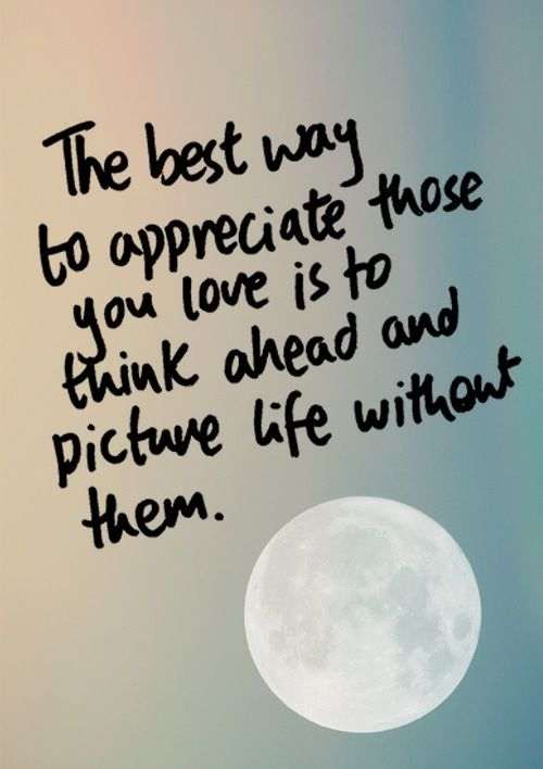 I Appreciate You Quotes For Loved Ones Cool Appreciate The One You Love Quotes Picture