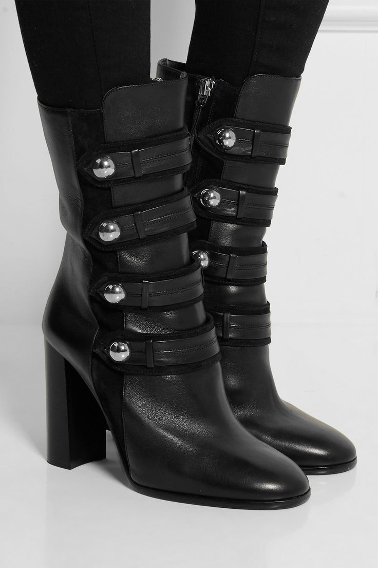 Latsen leather boots Isabel Marant Clearance With Paypal Cheapest Cheap Cost Really uoEabyy