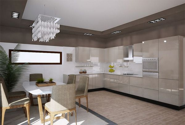 Combination of colors in the Interior of the kitchen-7