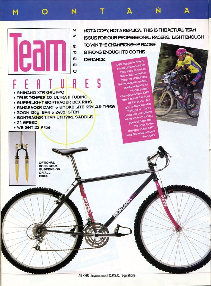 18 best fixies images on pinterest bicycles fixed gear and fixie 1993 khs bicycles catalog ccuart Image collections