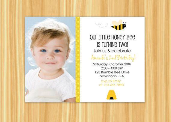 Custom Printable Bumble BEE Birthday Party by ThePaperGiraffeShop, $10.00
