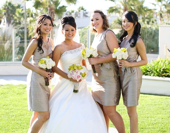 14 best Bridal Party images on Pinterest | Hair style weddings ...