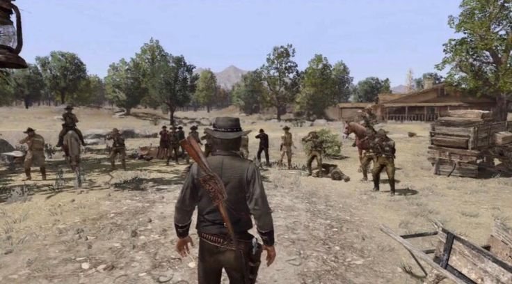 [Spoiler] [Red Dead Redemption] For sure one of the saddest moments for me in any game... http://ift.tt/2g7HYbu