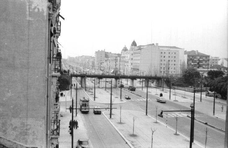 Ponte do caminho de ferro de entrecampos.