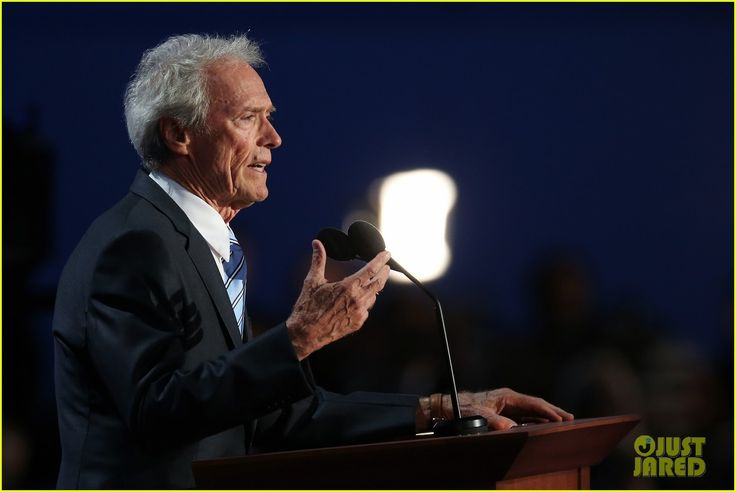 Clint Eastwood at the Republican National Convention 2016
