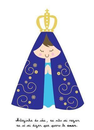 Bom dia abençoado por Deus! - Nossa Senhora de Aparecida rogai por nós!