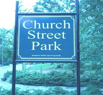 Church Street Park, Church Street, Fayetteville, GA