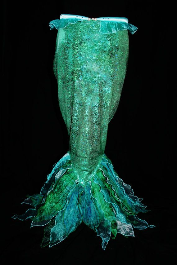 Little Mermaid Tail Fin. $400.00, via Etsy.