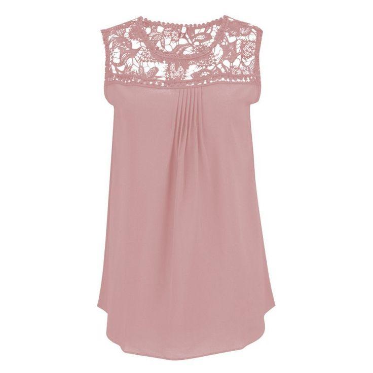 Blusas femininas夏の女性ブラウスレースヴィンテージノースリーブかぎ針編みカジュアルシャツトップスプラスサイズ4xl 5xl