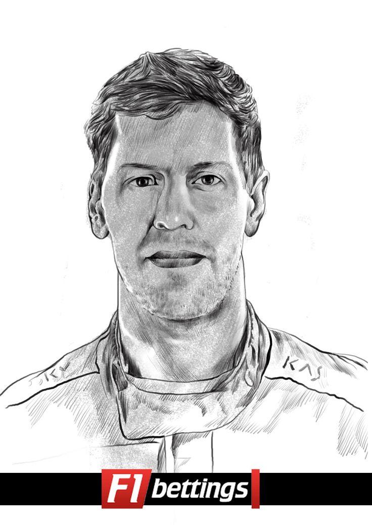 F1 driver Sebastian Vettel f1-bettings.com