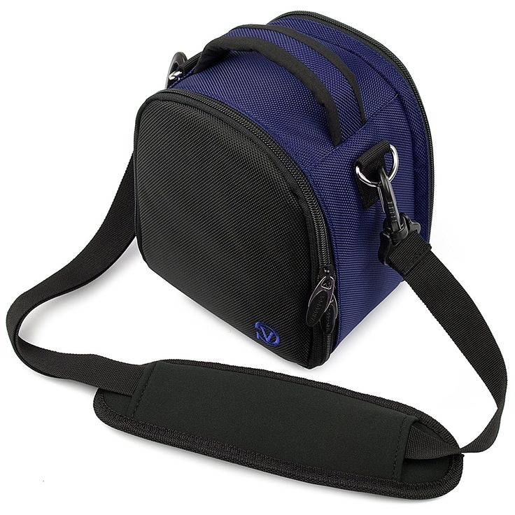 VanGoddy Laurel Carrying Bag for Nikon Coolpix L840 / L830 / L340 / L320 L820 / L610 / L810 / L120 / L110 / L100 Digital SLR Cameras (Blue) *** See this great product.
